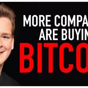 Another Company Puts Massive Cash Reserves in Bitcoin!! Ivan Explains..