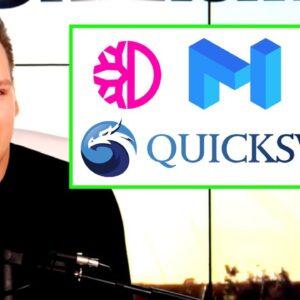 DeFi Updates: DeFiChain, Matic (QuickSwap), Uniswap, and MORE!!