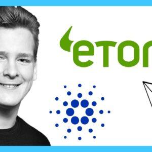 eToro Now Offering Staking Rewards for TRON (TRX) and Cardano (ADA)