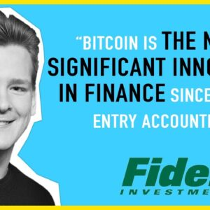 Fidelity Extremely Bullish On Bitcoin!! Ivan Explains...