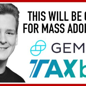 Gemini + TaxBit Making Crypto Taxes Easier!!