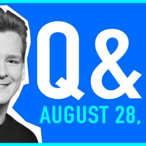 Good Morning Crypto Q&A – August 28, 2020