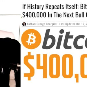If History Repeats Itself: Bitcoin to $400,000???
