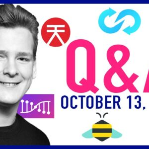Good Morning Crypto Q&A – October 13, 2020 (File Coin, Polkaswap, Trustswap, Honeyswap, and MORE!!!)
