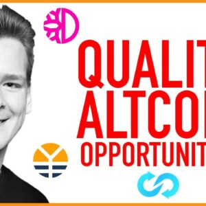 Quality Altcoin Opportunities are Back!!