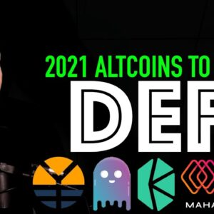 2021 Top Altcoins – DEFI – AAVE, COMPOUND, MAHADAO, MAKER, YFDAI AND MORE!!!