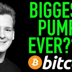 BITCOIN READY FOR BIGGEST PUMP EVER!!!