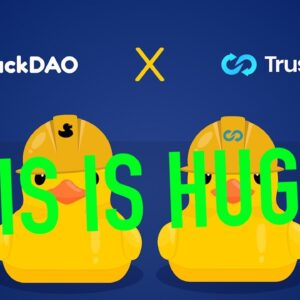 DUCKDAO AND TRUSTSWAP ANNOUNCE PARTNERSHIP!!