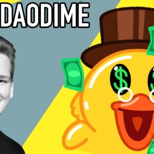 DuckDaoDime UP ALMOST 100% IN 24 HOURS!!
