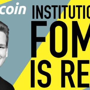 Institutional Investors Are Racing to Buy Bitcoin!!