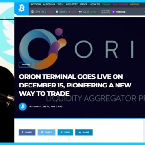 Ivan Discusses Orion and the Importance of On-Chain Aggregators