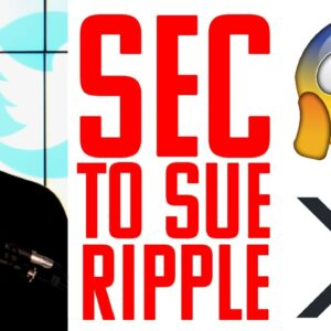 RIPPLE GETTING SUED BY SEC!!