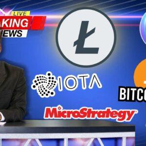 📰 COIN NEWS: Enjin, IOTA, Litecoin, MicroStrategy, Bitcoin ETF & more!