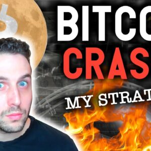 BITCOIN CRASH? MY STRATEGY TO MAKE INSANE GAINS EXPLAINED