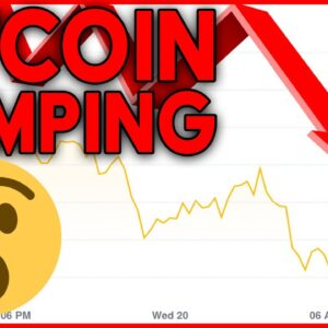 BITCOIN DUMPING!!! WHAT TO EXPECT NOW...