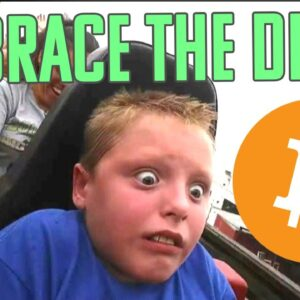 BUYING THE DIP IS ALWAYS UNCOMFORTABLE (BITCOIN WISDOM)