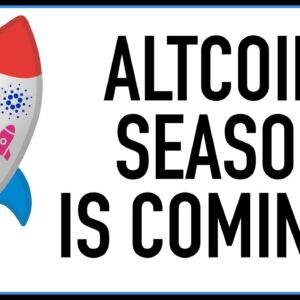 GET READY FOR AN INSANE ALTCOIN SEASON!! BITCOIN IS ROCKET FUEL FOR ALTS!!