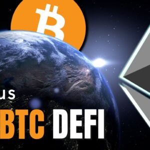 ETHEREUM, BITCOIN and DeFi About the Take Over the World 🌎🚀