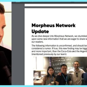 BIG THINGS ARE HAPPENING WITH MORPHEUS!!! IVAN ON TECH EXPLAINS....
