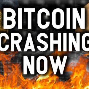 BITCOIN CRASHING NOW? Why I'm NOT worried... SuperFarm News