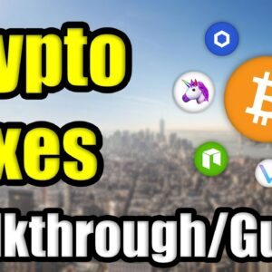 How To Do Cryptocurrency Taxes in 2021 | CryptoTrader.Tax - Walkthrough | Coinbase, Binance, Uniswap
