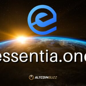 Essentia (ESS) Micro Cap Passive Income Altcoin with Major Upcoming Announcements