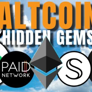 Lesser Known Altcoin GEMS 💎 PAID, Secret, Cartesi, Litentry, Adventure Token, E-Money, StormX 🔥