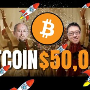 50k Bitcoin Party ft. Elon Musk, Michael Saylor, Max Keiser et al 🚀🌝🔥