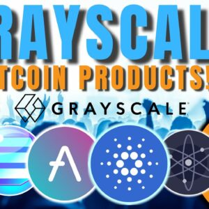 HUUUUGE: Grayscale To Consider DOZENS of New Altcoin Digital Asset Investment Products!!! 🚀