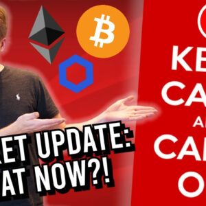IMPORTANT CRYPTO UPDATE!! PRICES AT CRUCIAL LEVELS! [Bitcoin, Ethereum & Chainlink]