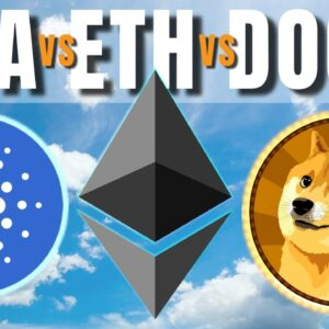 Ethereum Relaxes BUT Cardano, Dogecoin, Avalanche and Elrond GO PARABOLIC!!!