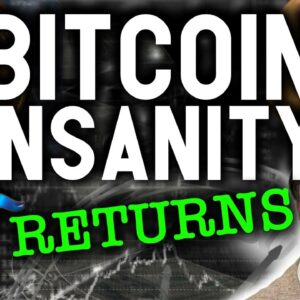 URGENT!! BITCOIN INSANITY RESUMES! PATH TO $1M BTC