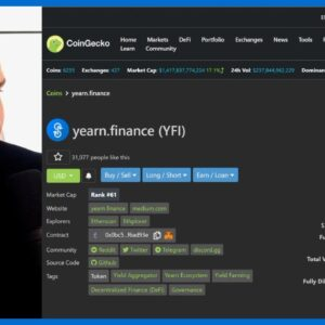 WILL YEARN.FINANCE (YFI) WAKE UP SOON?? IVAN ON TECH EXPLAINS...