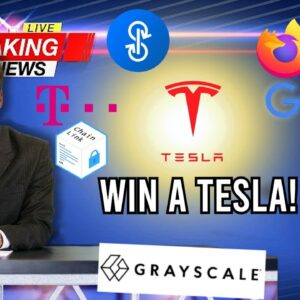 📰 CRYPTO NEWS: Win a Tesla, Polkamarkets, Matic (Polygon), Deutsche Telekom & more!