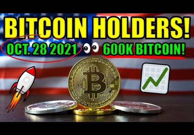 UNITED STATES BITCOIN ETF OCTOBER 28 2021! 600K BITCOIN PRICE PREDICTION! CRYPTOCURRENCY NEWS