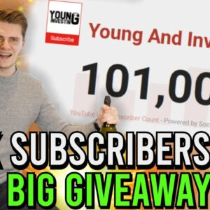 100.000 Subscribers Q&A + BIG GIVEAWAY ($3000+ IN PRIZES) 🎉🥂