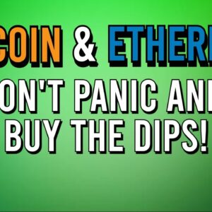 📉 MARKETS IN PANIC! WHAT NOW?!  | Bitcoin & Ethereum Outlook! 📈