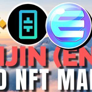 Enjin (ENJ) EXPLODES on Bullish NFT News | Binance Smart Chain, The Graph and THETA Network + STACK