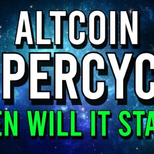 🚀 ALTCOIN SUPERCYCLE: WHEN WILL IT HAPPEN?!