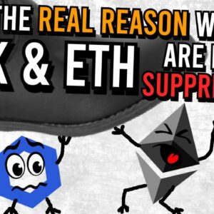 ETHEREUM & CHAINLINK PRICES SUPPRESSED!! THE REASON IS POSITIVE... 👀