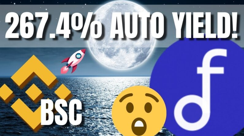 HOTTEST Binance Smart Chain Yields 267.4% APY!!! AutoFarm on BSC