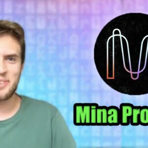 The Next Chainlink?!? | New Altcoin Launching in April | Developer of Mina Protocol Explains