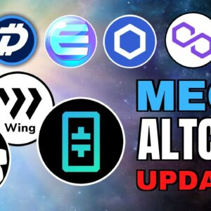 BIG Altcoin News: THETA, DGB, Chainlink, WING, Polygon, Quant Network, LABS, Aluna, ZeroSwap, B21 🚀