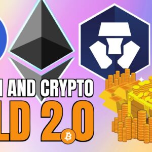 Gold 2.0: Crypto and Altcoins | Ethereum, Crypto.com, Chainlink Updates!!! 🚀🌟