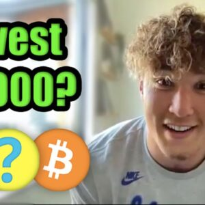 How I Would Invest $1,000 in Cryptocurrency in April 2021 | Football Player Taylor Rapp
