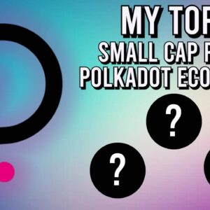 TOP 3 SMALL CAP Crypto Picks In The POLKADOT ECOSYSTEM