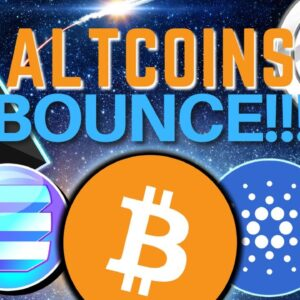 Altcoins BOUNCE | Bitcoin, Ethereum, Reserve, Cartesi, PAID, Poolz Finance, Crypto.com and MARK 🔥