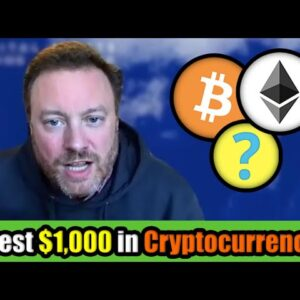 How I Would Invest $1000 in Cryptocurrency in March 2021? | Douglas Borthwick CMO of INX
