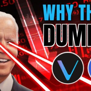 CRYPTO CARNAGE: Is the Altcoin Bull Market OVER Due to Biden's Capital Gains Tax? | LINK and VET
