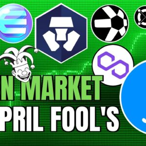 GREEN CRYPTO MARKET on APRIL FOOLS + Filecoin, Tron and Altcoins EXPLODE 🚀